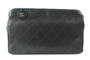 Chanel Quilted Cosmetic Pouch