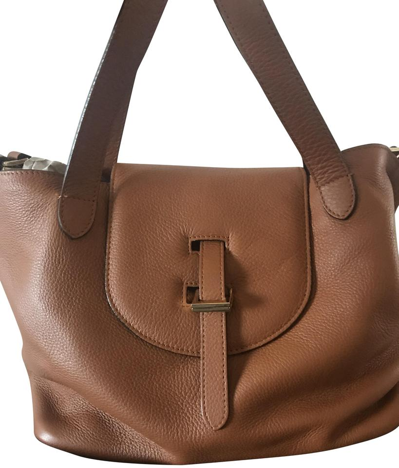 e231f5a4927a Meli Melo Thela Medium Tan Leather Shoulder Bag - Tradesy