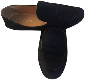 Derek Lam Loafers Calf Hair Leather Taylor Cobalt Flats