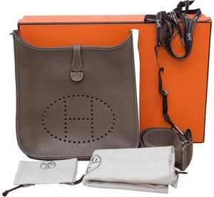 Herms Evelyn Pm 3 Evelyn Cross Body Bag