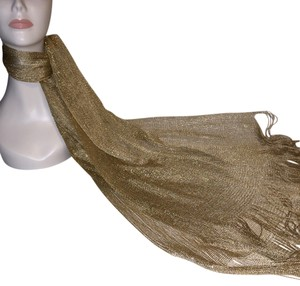 Other Golden Wrap / Scarf [ Roxanne Anjou Scarf ]