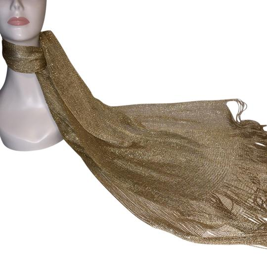Preload https://item4.tradesy.com/images/other-golden-wrap-scarf-roxanne-anjou-scarf-2259128-0-0.jpg?width=440&height=440