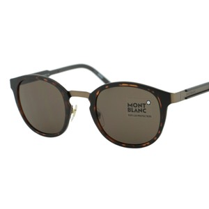 Montblanc NEW Signature MB590 52E Men Round Pantos Sunglasses