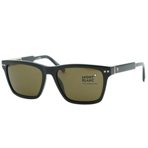 Montblanc New MB-694 01J Men Wayfarer Rectangular Sunglasses ZEISS Lenses