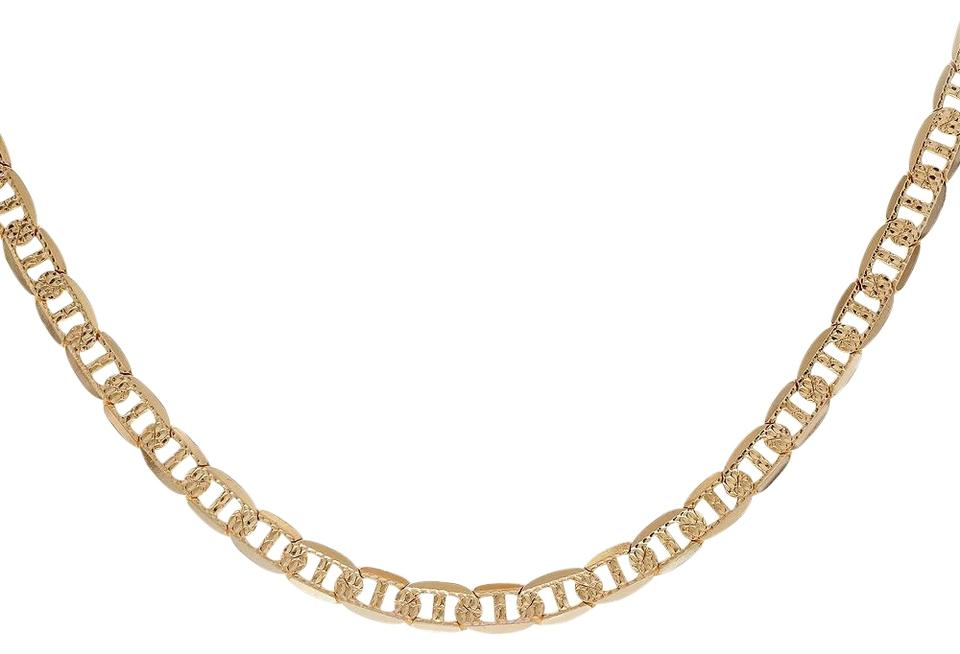 Gucci Link Chain >> Avital Co Jewelry Yellow Gold 14k Diamond Cut Gucci Link Chain 21 Inches Made In Italy 67 Off Retail