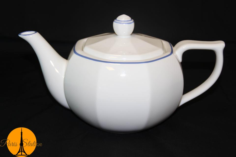 Tiffany co white new porcelain teapot tradesy - Find porcelain accessory authentic ...