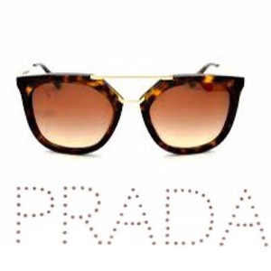 fd1db33c15e Prada SPR 13Q 54 20 Tortoise Sunglasses with Original Case   Booklet