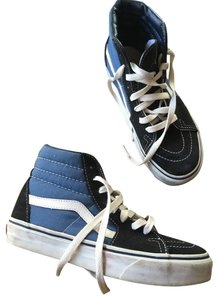Vans blue and black Athletic