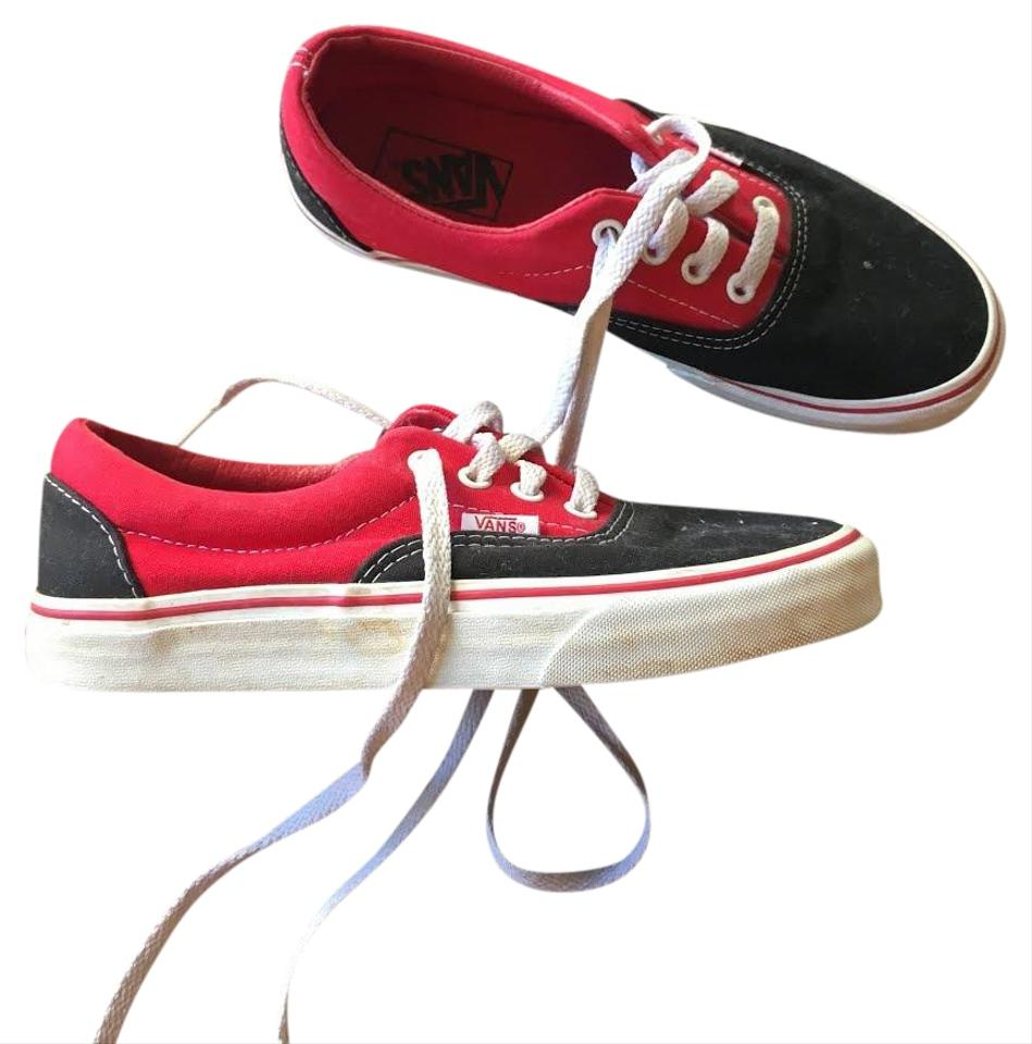 657a04200617 Vans Red and Black Off The Wall Sneakers Sneakers Size US 6 Regular ...