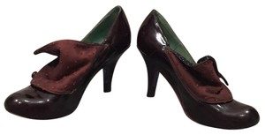Irregular Choice oxblood Pumps