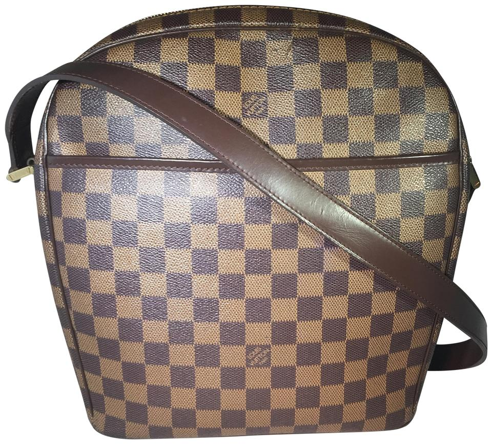 3eb3646375c Louis Vuitton Ipanema Pm Messenger Damier Ebene Canvas Cross Body ...