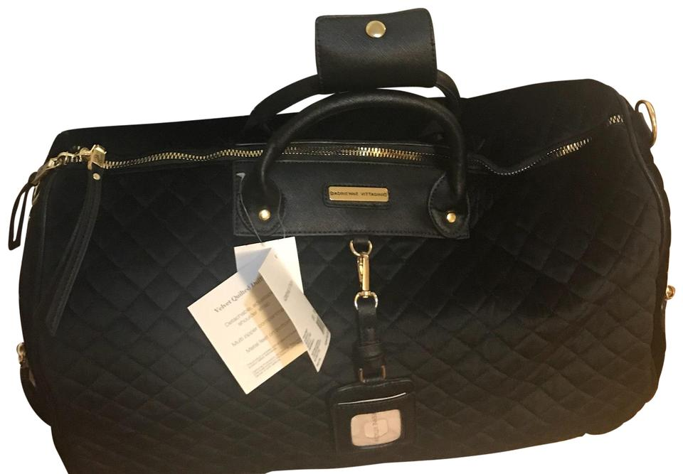 Adrienne Vittadini Black Travel Bag