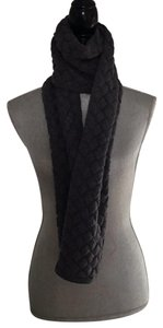 Bottega Veneta Bottega Veneta Grey Wool Weaving Scarf