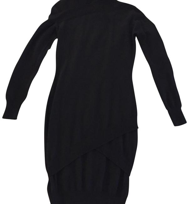 Item - Black Nice Long Short Casual Dress Size 6 (S)