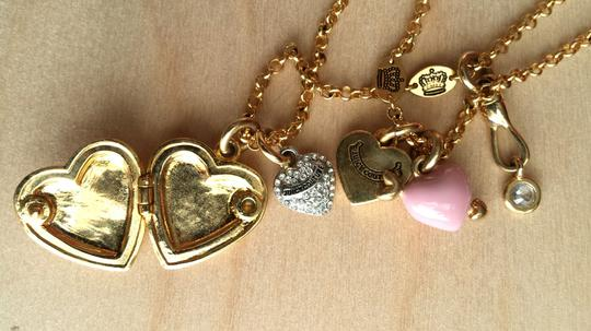 Juicy Couture Juicy Double Strand Heart Necklace