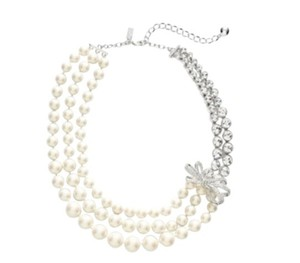 Kate Spade NWT KATE SPADE PEARLY GLOW STATEMENT NECKLACE W DUST BAG GORGEOUS $320