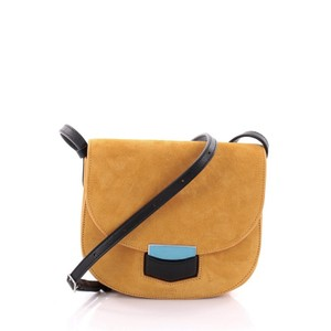 Céline Suede Cross Body Bag