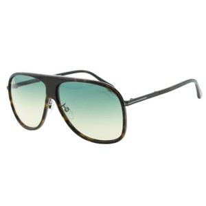 Tom Ford New Chris FT0462 56P Large Aviator Navigator TF-462 Sunglasses 62mm
