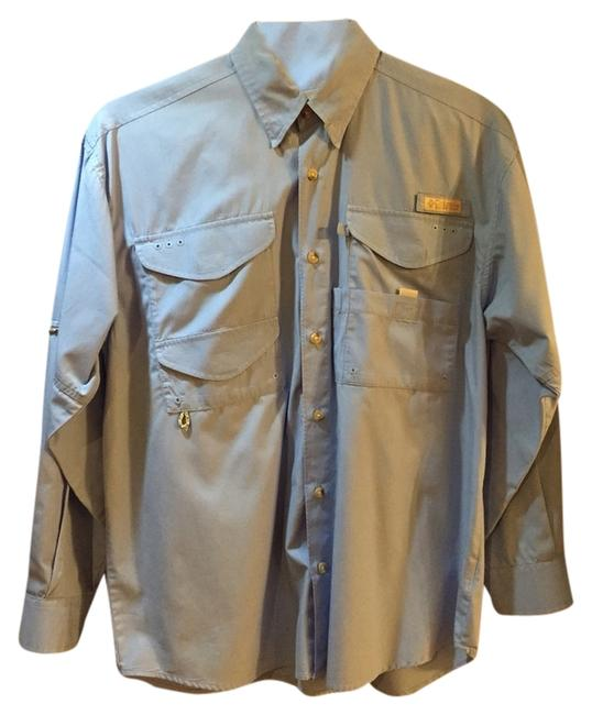 Preload https://item5.tradesy.com/images/columbia-sportswear-company-powder-blue-button-down-top-size-8-m-2259469-0-0.jpg?width=400&height=650