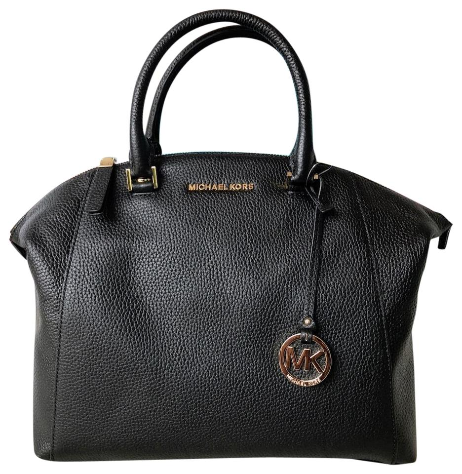 70af636f93f0 Michael Kors Riley Black Leather Tote - Tradesy
