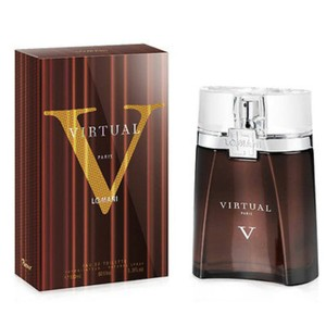 LOMANI VIRTUAL BY LOMANI FOR MEN-EDT-100 ML-MADE IN FRANCE