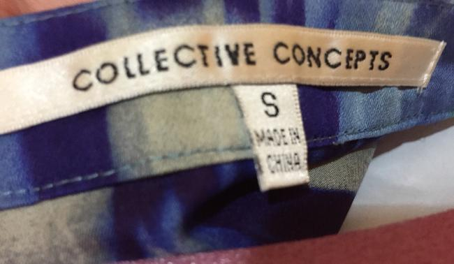 Collective Concepts Top Blue, Green, Multi