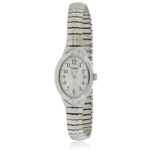 Timex T2N981 Elevated Women's Silver Analog Dial Watch