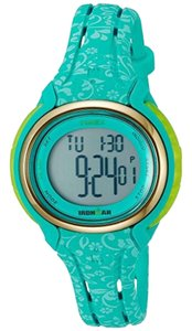 Timex TW5M03100 Ironman Women's Blue Resin Band With Grey Digital Dial