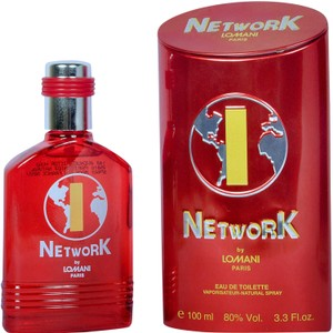 LOMANI LOMANI NETWORK 1 RED FOR MEN-EDT-100 ML-MADE IN FRANCE