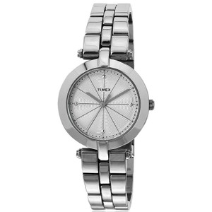 Timex TW2P79100 Elevated Women's Silver Steel Band With Silver Analog Dial