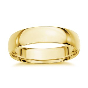 Avital & Co Jewelry Yellow Gold 4 Mm 14k Ring Women's Wedding Band