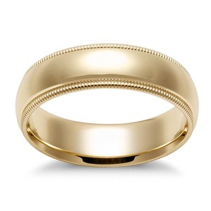 Avital & Co Jewelry Yellow Gold 5.0 Mm 14k Ring Men's Wedding Band