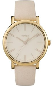 Timex TW2P96200 Tonal Women Cream Leather Band With Cream Analog Dial