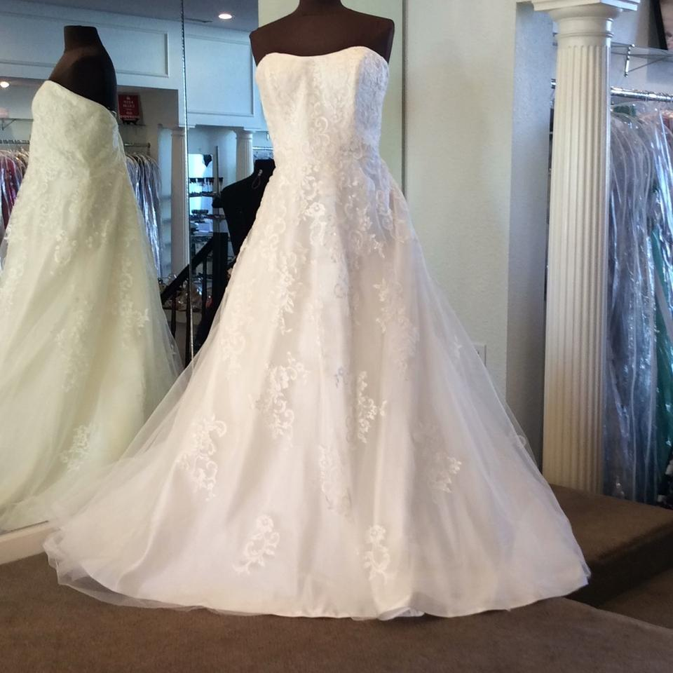 Maggie Sottero Lace Wedding Gown: Maggie Sottero Ivory Lace 5mt130 Traditional Wedding Dress