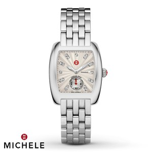 Michele NEW Michele Urban Mini Diamond Dial MWW02A000502 Watch