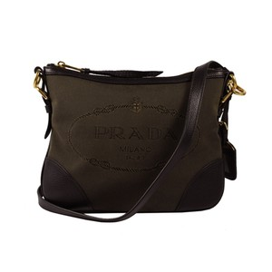 Prada Women's Fabric Cross Body Bag
