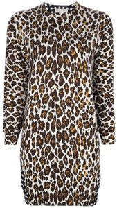 Stella McCartney short dress multi Contrast Print Animal Print Check 40 on Tradesy