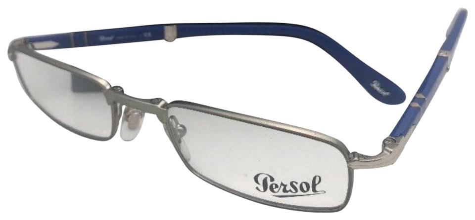 Persol New Rx-able Folding 2401-v 1052 51-21 145 Ruthenium & Blue ...