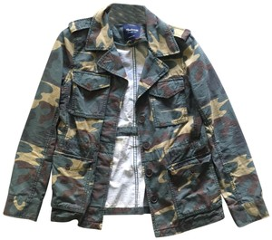 a2b15f05f88ef Madewell Military Jacket. Madewell Camo Fitted Army Jacket Size ...