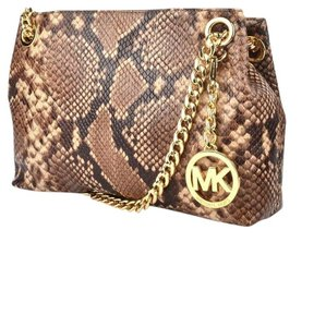 Michael Kors Jet Set Chain Embossed Crossbody Style: 30t5gtcm2e Medium Blossom Messenger Bag