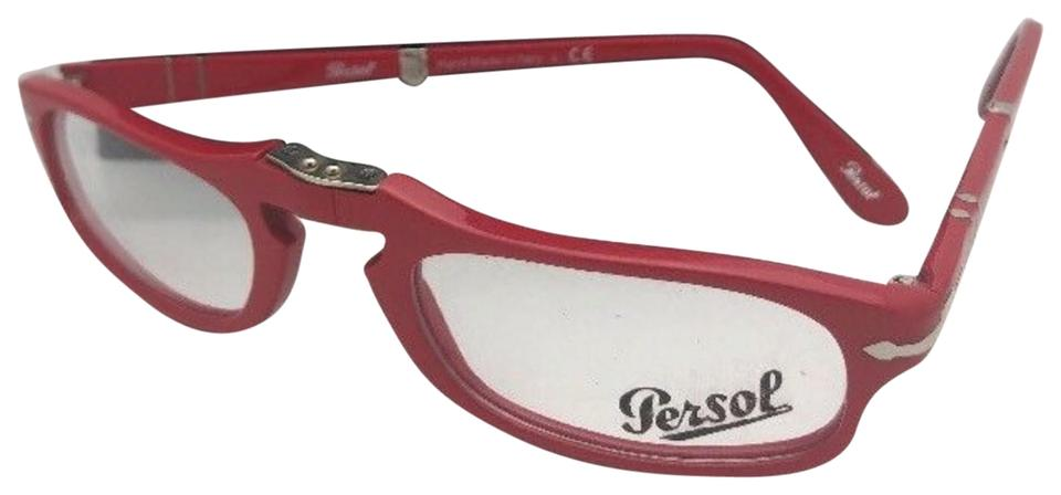 Persol New Folding Rx-able 2886-v 999 51-22 145 Red Frames ...