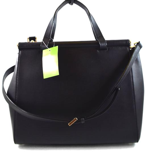 0bddd2e6a404 Kate Spade Small Cherise Royal Place Wkru3306 Black 001 Leather Satchel 56%  off retail