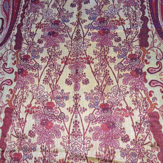 Other Reversible Indian Tapestry Wrap / Scarf (60% Wool / 40% Silk) [ Roxanne Anjou Closet ]