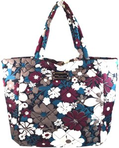Marc by Marc Jacobs Tote in Grey/Burgundy