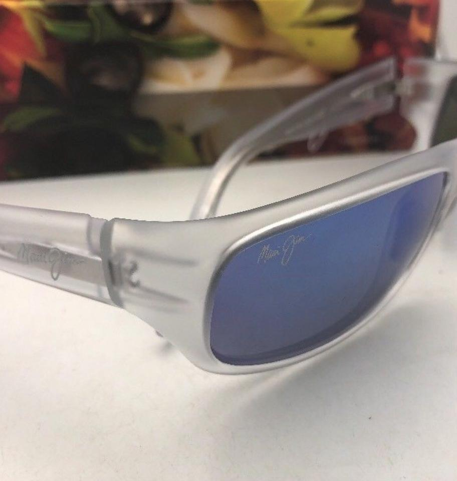 maui jim polarized stingray mj 103 05cm matte crystal w blue hawaiimaui jim polarized maui jim sunglasses stingray mj 103 05cm matte crystal frame image 11 123456789101112