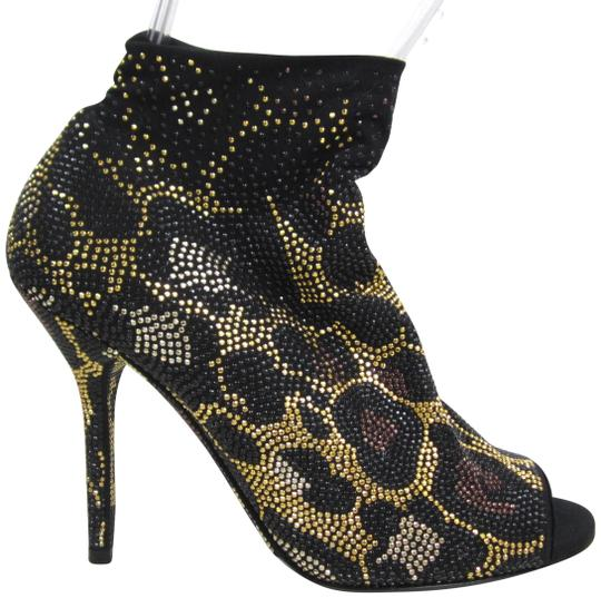 Preload https://img-static.tradesy.com/item/22597788/dolce-and-gabbana-black-leopard-print-studded-rhinestone-open-toe-sock-knit-high-heel-bootsbooties-s-0-1-540-540.jpg