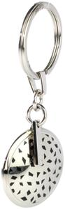 Cartier Leopard Spot Round Charm Key Ring