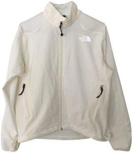 The North Face Softshell White/Off-white M Smoke-free/Pet-free white/off white Jacket