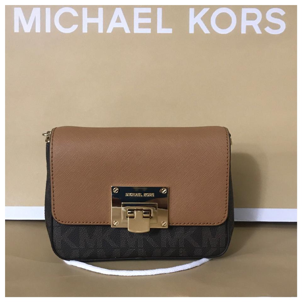 2737fe629235 Michael Kors Mk Tina Small Crossbody Clutch - Tradesy
