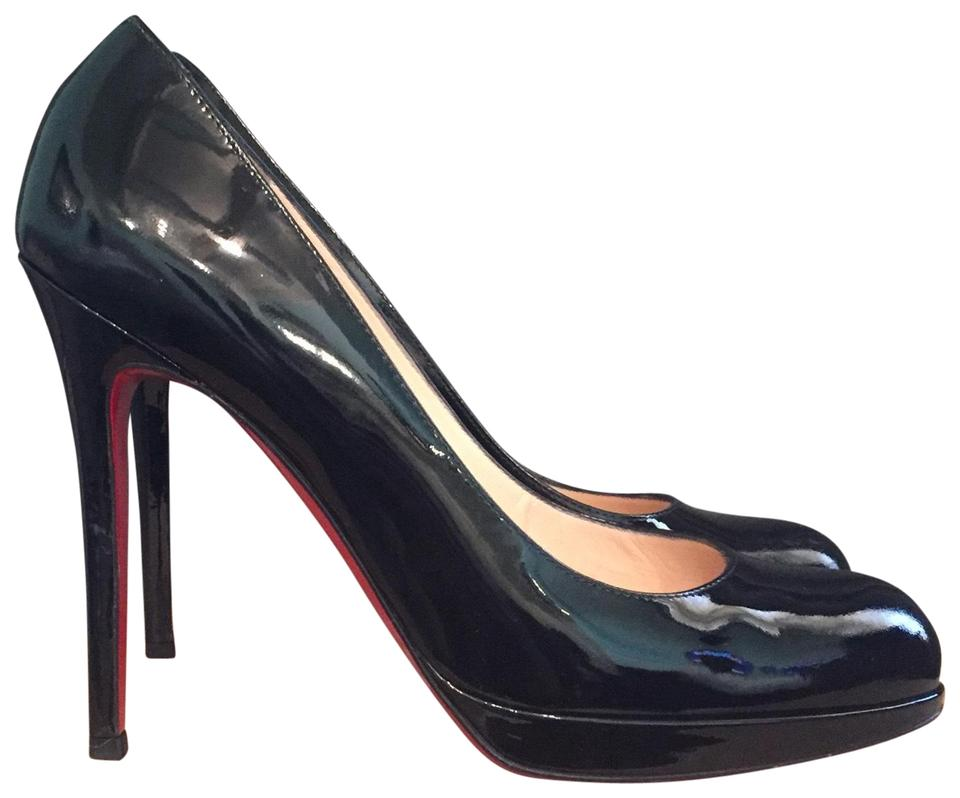 cfa6e652a51 Christian Louboutin Black New Simple Pump 120 Platforms Size EU 39.5 ...